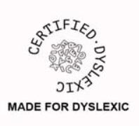 logo dyslexie certified